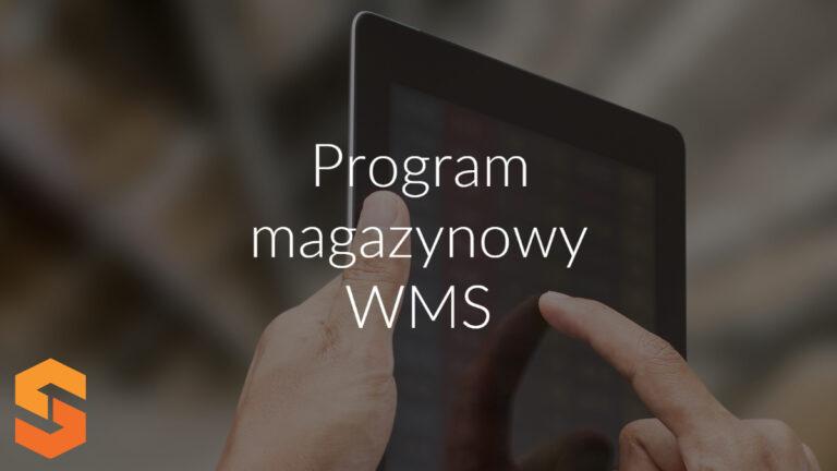 Program magazynowy WMS