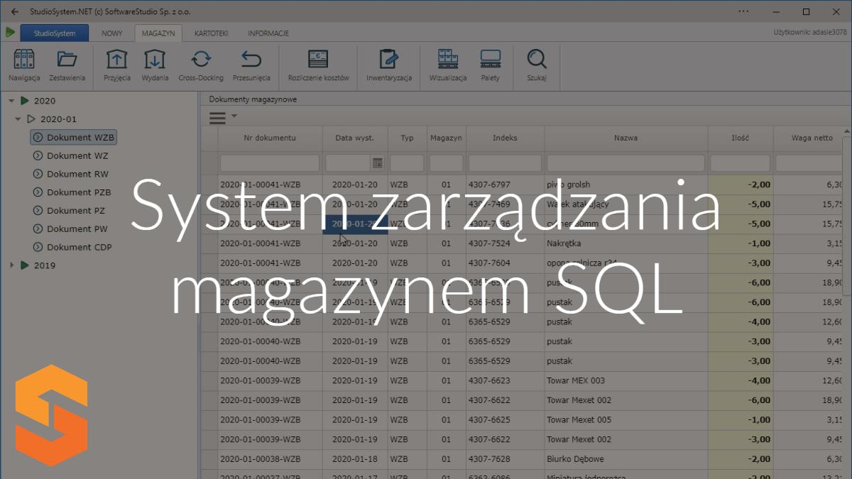 Dlaczego system zarządzania magazynem sql ułatwia pracę w magazynie?