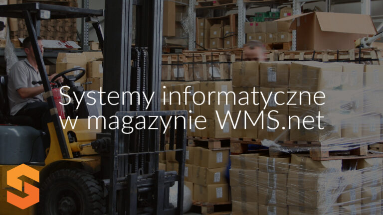Systemy informatyczne w magazynie WMS.net