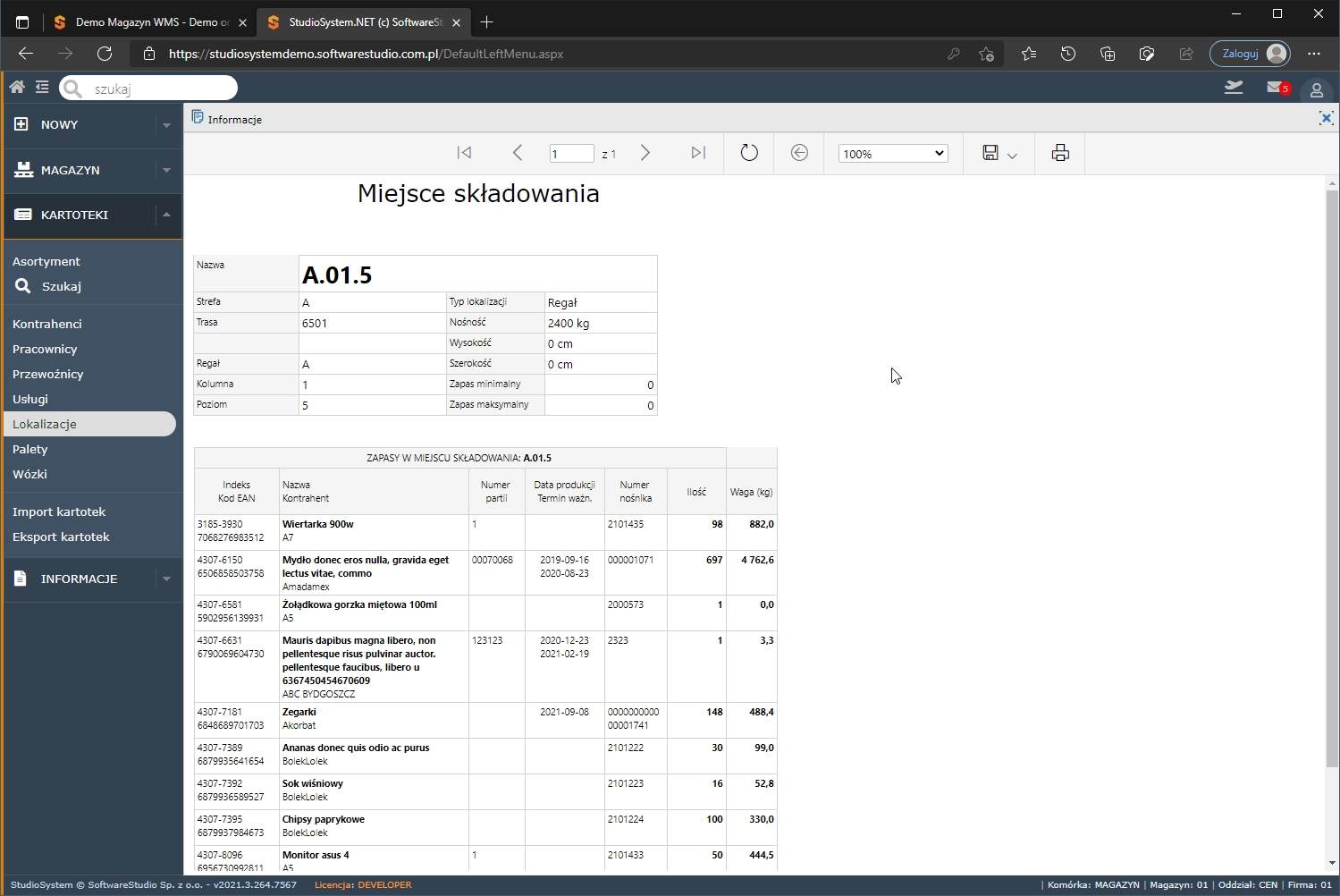 Oprogramowanie magazynowe online program wms.net